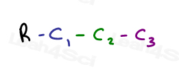 Linear substituent organic compound