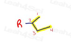 Sec butyl Organic Substituent for nomenclature
