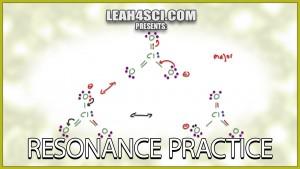 Resonance Practice Problems for Organic Chemistry