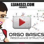 Watch Orgo basics resonance structures step by step video tutorial by Leah4Sci