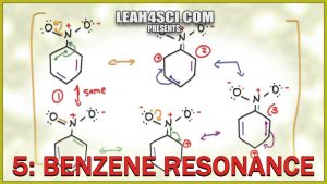 Benzene Resonance with aniline, toluene, nitrobenzene in Video Tutorial Series