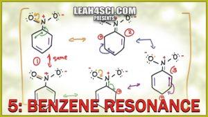 Benzene Resonance with aniline, toluene, nitrobenzene in Video Tutorial Series