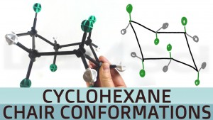 Cyclohexane Chair Conformations Stability Axial Equatorial Substituents