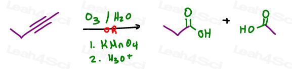 If you forget one way you can try another such as O3 or KMnO4 in organic synthesis