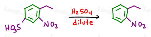 dilute H2SO4 removes sulfate blocking group on benzene.jpg