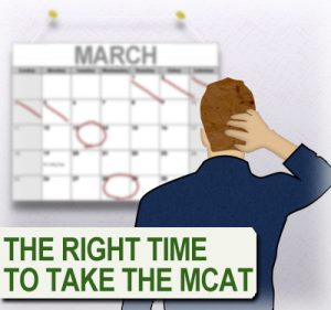 The Right Time to Take the MCAT