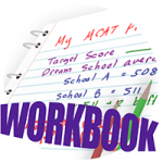 MCAT prep guide companion workbook