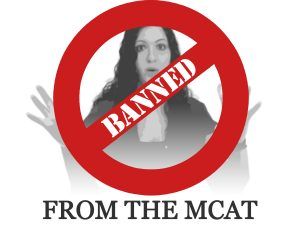 Banned from taking the MCAT