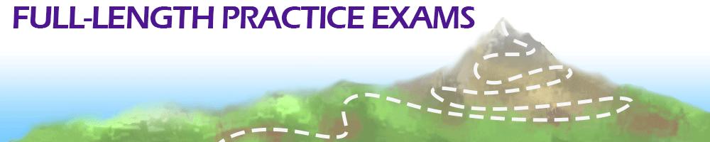 Full Length Practice Exams