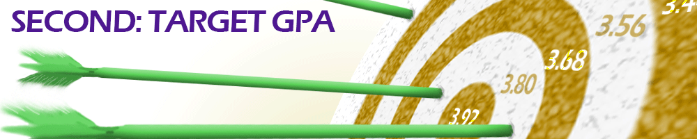 Second- Target GPA