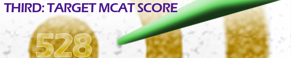 Setting Your MCAT Target Scores for Your Dream Medical School -