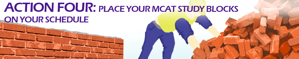 Action four place your mvcat study blocks on your own schedule