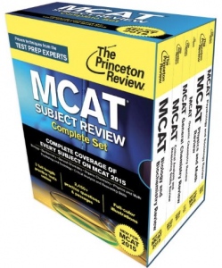 Princeton Review MCAT Books