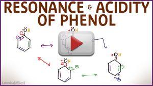 Alcohols Resonance & Acidity of Phenol by Leah4sci