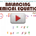 Balancing Chemical Equations with Practice Problems in MCAT General Chemistry by Leah4sci