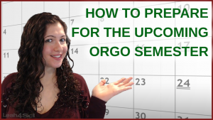 How To Prepare for Your Upcoming Organic Chemistry semester by leah4sci