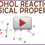 Physical Properties of Alcohol Solubility and Boiling Point Video Tutorial in Organic Chemistry by Leah Fisch