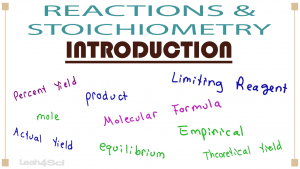 Stoichiometry & Reactions 1