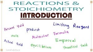 Stoichiometry & Reactions 1