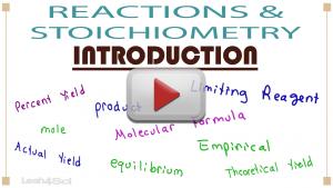 Stoichiometry & Reactions 1 play