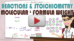 Stoichiometry & Reactions 2 Molecular Weight by Leah Fisch