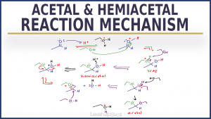 Acetal & Hemiacetal Reaction Mechanism Video Leah4sci