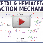 Mechanism for Acetal and Hemiacetal Formation in Acid and Base in Organic Chemistry Leah4sci
