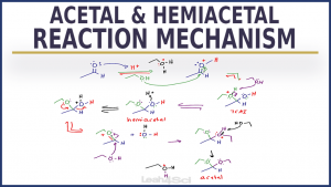 Mechanism for Acetal and Hemiacetal Formation in Acid and Base in Organic Chemistry by Leah4sci