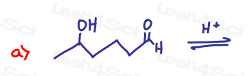 Mechanism for Aldehyde Alcohol in Acetal Ketal Hemiacetal Worksheet by Leah Fisch