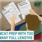 Preparing for the MCAT using 5 full length company exams Leah4sci
