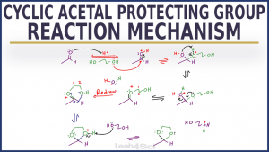Cyclic Acetal Protecting Group Reaction and Mechanism in Organic Chemistry by Leah Fisch