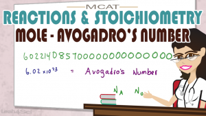 Mole and Avogadro's Number in MCAT General Chemistry by Leah Fisch