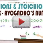 Mole and Avogadro's Number in MCAT General Chemistry by Leah4sci