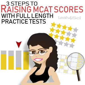 3 Steps to Raising Your MCAT Scores With Full Length Practice Tests leah4sci