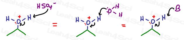 Proton Transfer Sulfuric Acid Leah4sci
