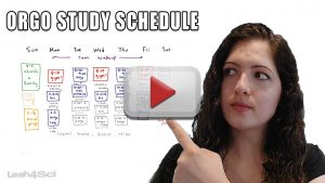 Organic Chemistry Study Schedule by Leah Fisch
