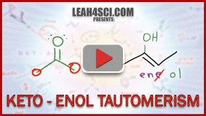 Keto Enol Tautomerism Acid and Base Reaction and Mechanism