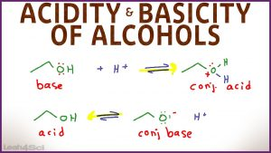 Alcohols Acidity and Basicity of Alcohols by Leah4sci