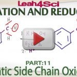 Aromatic Side Chain Oxidation to Carboxylic Acid by Leah4sci