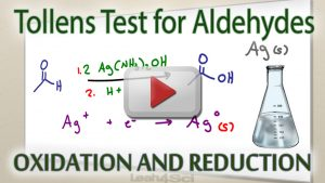 Tollens Reagent Silver Mirror Test for Aldehydes by Leah4sci