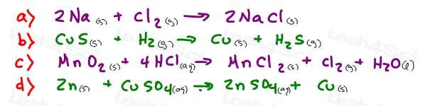 stoichiometry chemistry practice question