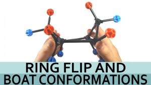 Cyclohexane Ring Flip and Boat Conformation by Leah4sci