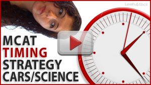 MCAT Timing Strategy for CARS and Sciences Passages Video