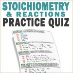 Stoichiometry and Reactions Practice Problems Leah4sci