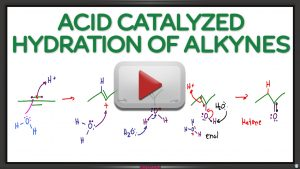Alkyne Hydration Reaction and Mechanism Leah4sci