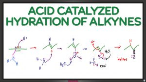 Alkyne Hydration Reaction and Mechanism by Leah4sci