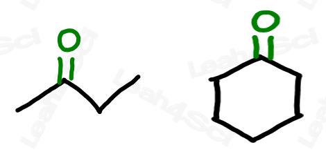 Drawing ketones