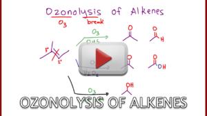 Ozonolysis of Alkenes Reaction