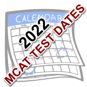 2022 MCAT Test Dates by Leah4Sci