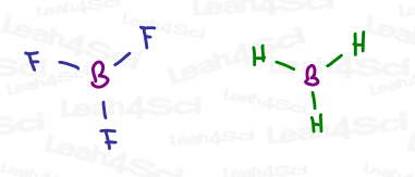 BH3 and BF3 lewis structure